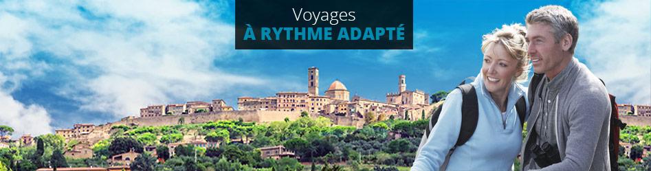 Voyages à rythme adapté